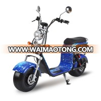 60v 2000w halley fat tire electric scooter city coco eec