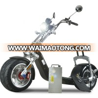 EEC/COC fat tire 1000w 2000w electric scooter city coco with battery removable